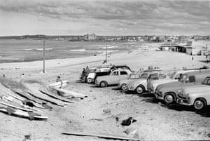 Wanda beach carpark 1962