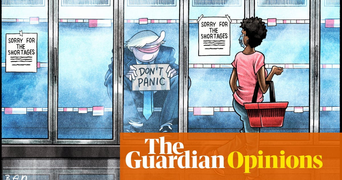 Ben Jennings on the UK's supply chain crisis – cartoon