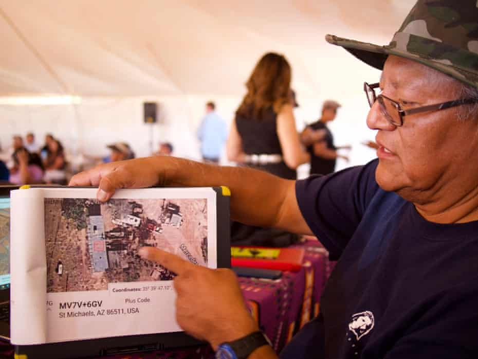 MC Baldwin explains how the tribe is using a piece of software developed for emergency responders to register Navajo nation voters without formal street addresses.
