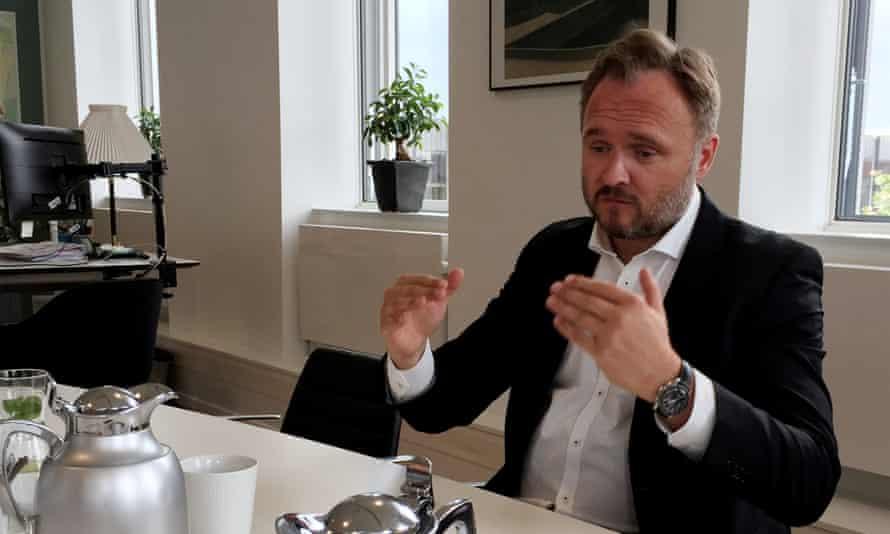 Denmark's climate and energy minister Dan Jørgensen.
