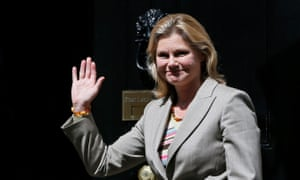 Justine Greening says helping Syria and countries in Africa is 100% in the UK's interest.