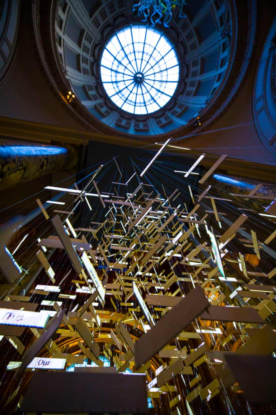 The Singing Tree at the V&A by Es Devlin