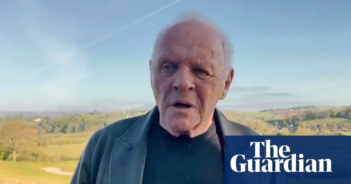 Anthony Hopkins posts video from Wales after Oscars triumph