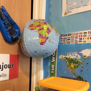 A globe by Ethan, nine