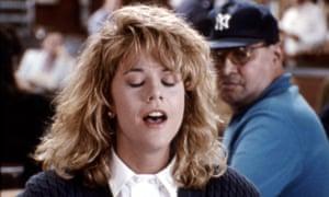 Meg Ryan in When Harry Met Sally.