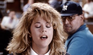 Meg Ryan's orgasm scene in When Harry Met Sally