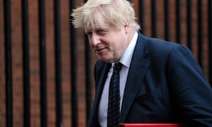 Boris Johnson, the foreign secretary.