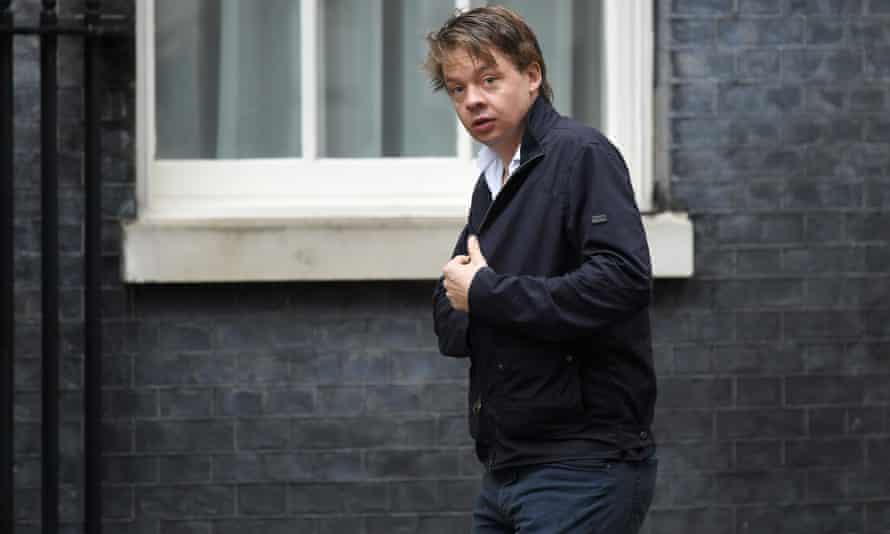 Ben Warner in Downing Street in June.
