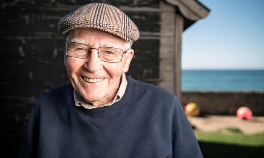 James Lovelock near his home on the Dorset coast