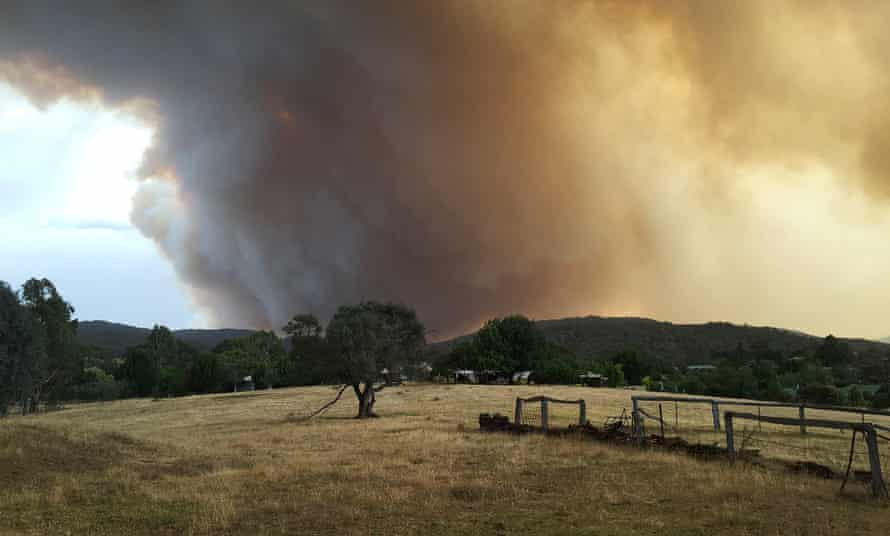 Bushfire in Victoria