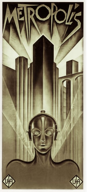 Top Selling Film Posters: Top Selling Film Posters - Metropolis, 1927