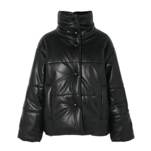 Black vegan leather, £485, by Nanushka, from net-a-porter.com.
