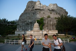Mount Rushmore and the Capitol Building