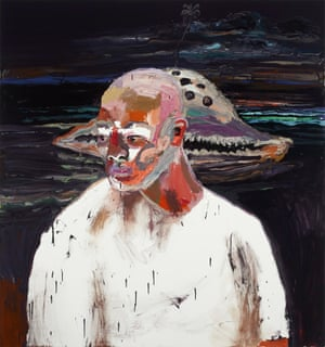 Ben Quilty, Australia, born 1973, Myuran, 2012, Southern Highlands, New South Wales, oil on linen, 170.0 x 160.0 cm; Private collection, Courtesy the artist, photo: Mim Stirling. L/BQ/18