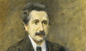 Max Liebermann's 1925 portrait of Albert Einstein