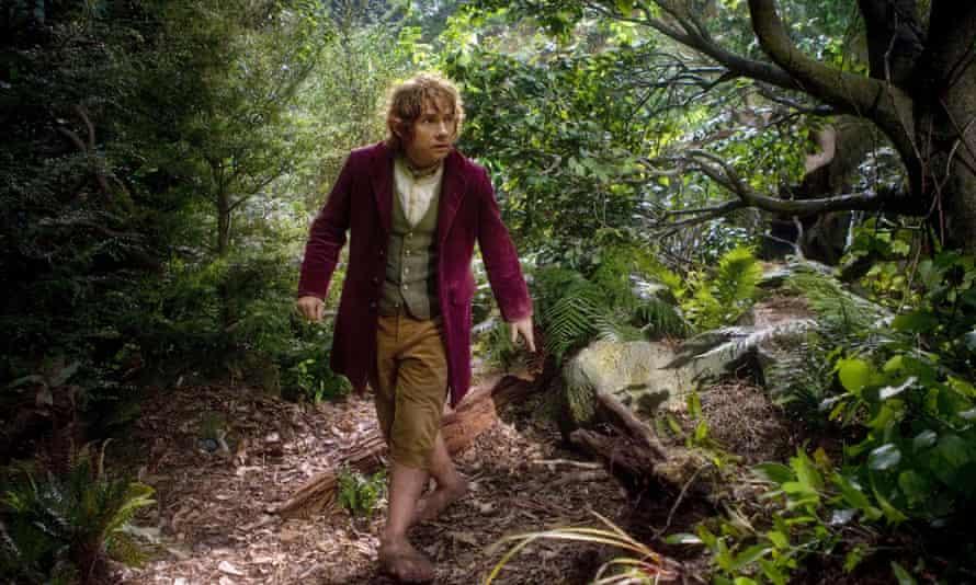 Martin Freeman as Bilbo Baggins.