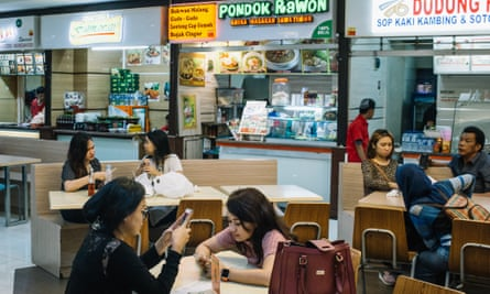 Try reversing the way you usually choose where to eat. An eatery in a mall? Maybe you'll discover somewhere that's more interesting to eat than you initially imagined.