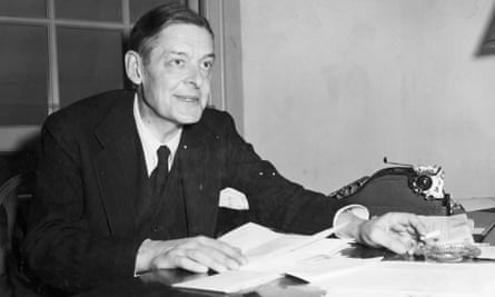 'A one-man publishing industry': TS Eliot at his desk inspecting manuscripts