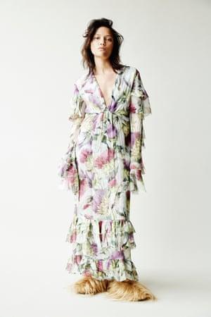 The Fashion keylooks ruffles and frills