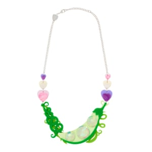 Spring awakening Start building your spring wardrobe with costume jeweller Tatty Devine's Bloom Boom accessories. The laser-cut acrylic necklaces and earrings imitate buds, blossoms and posies. They're designed in London and made in Kent. Sweetpea necklace, £155, tattydevine.com