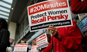 Aaron Persky is facing a high-profile recall campaign.