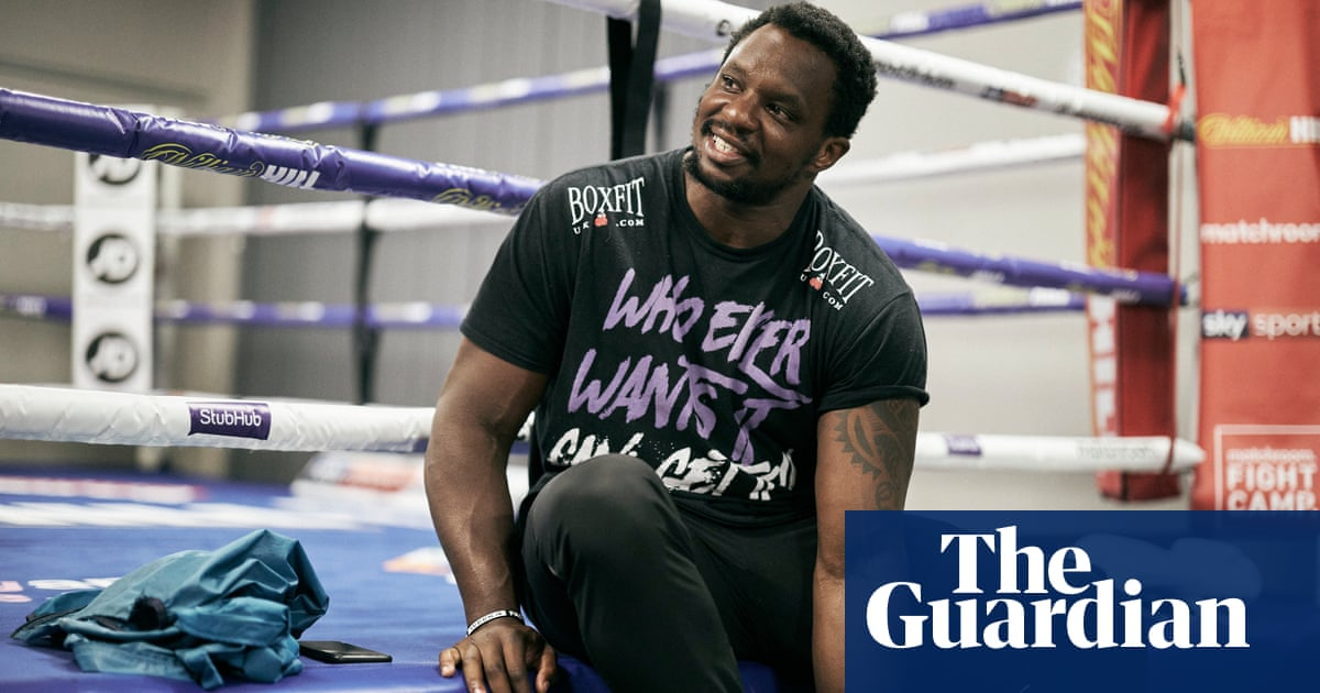 Dillian Whyte: I was born in a storm. Adversity is the story of my life