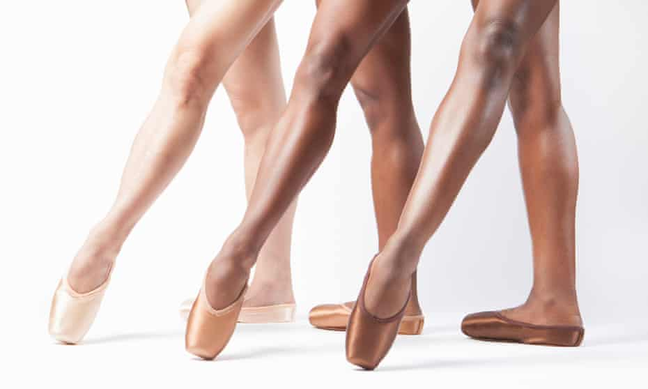 'A real change in ballet' … pointe shoes by Freed.
