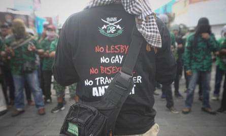 Rally Against LGBT Held In Indonesia