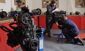 motor vehicle maintenance btec