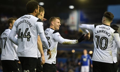 Football League roundup: Derby ease past Birmingham as Wolves are held