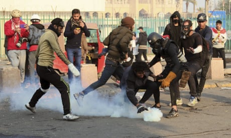 Several killed as Iraqi security raid anti-government protests