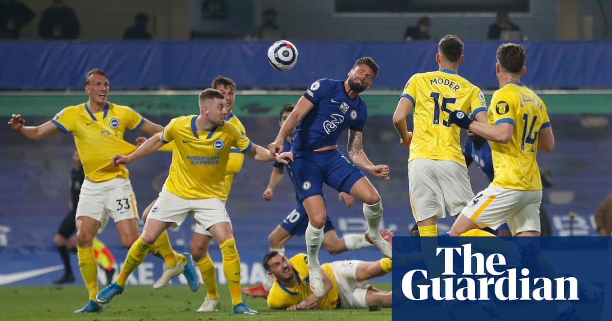 Hesitant Chelsea fail to fire as protests mark goalless draw with Brighton