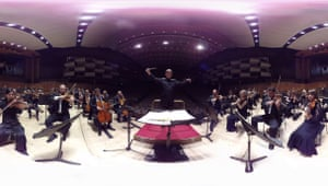 The Philharmonia's virtual reality project, with Esa-Pekka Salonen on the rostrum.