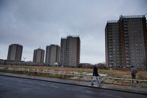 Six tower blocks run by Shoreline Housing Partnership in Grimsby face demolition.