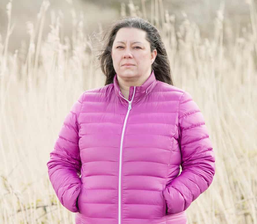 Lisa Goodier, Senior Project Manager in Gwynedd Council's Flood & Coastal Erosion Risk Management Team