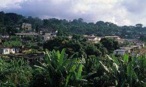 South Bioko Island, Equatorial Guinea.