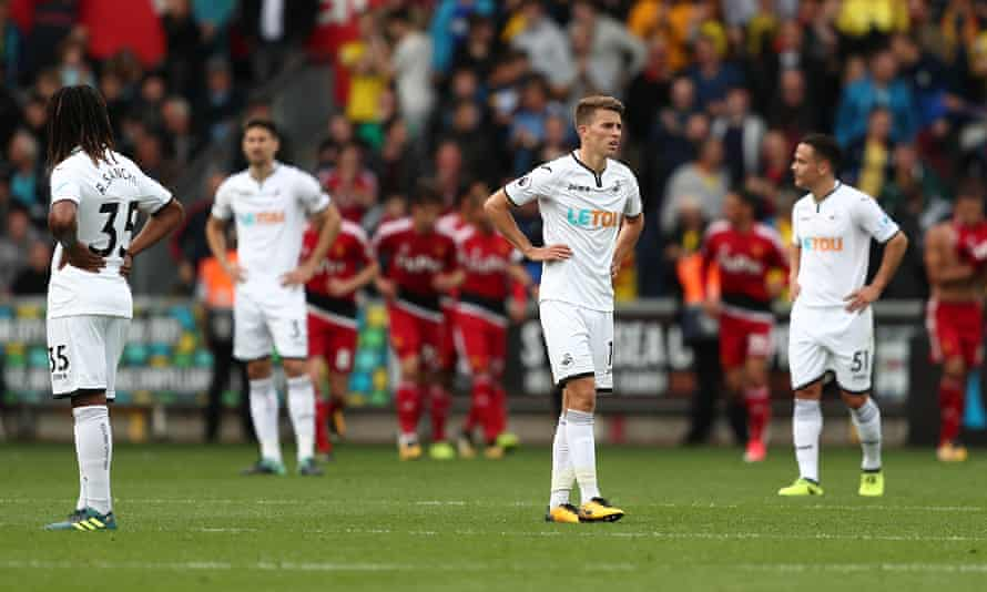 Would Swansea players and fans have more fun in the Championship?