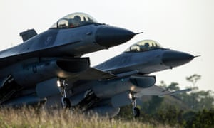 Taiwan's existing fleet of F-16 fighters will be upgraded with 66 new planes costing $8bn.