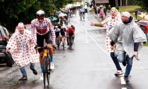 Wout Poels at the 2021 Tour de France