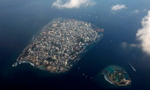 Malé, capital of the Maldives, a member of the Alliance of Small Island States.