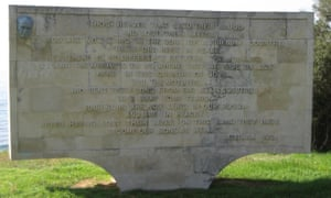 The reported words of Ataturk on a wall on the Gallipoli Peninsula in Turkey