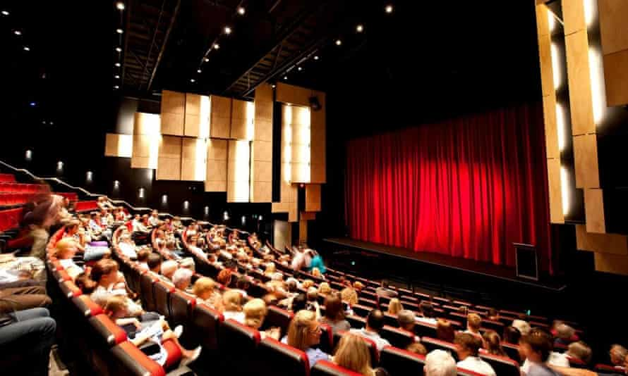 Dubbo Regional Theatre, before audience numbers were restricted