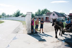 Beregovo has segregated a Romani settlement