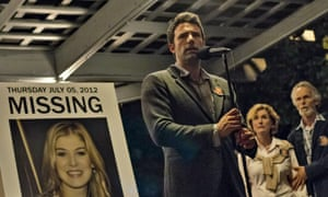 Ben Affleck in the 2014 film adaptation of Gone Girl.