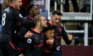 Joy for Arsenal after Alexis Sánchez's late penalty.