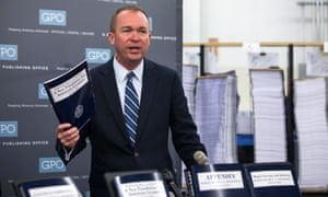 Budget director Mick Mulvaney.