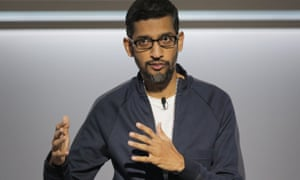 Google's CEO, Sundar Pichai, sent a letter to staff on Thursday insisting that the company took a 'hard line' in sexual misconduct allegations.