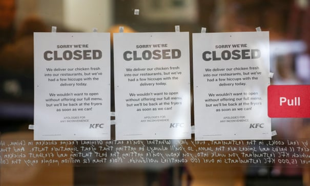 Hundreds Of Kfc Shops Closed As Storage Depot Awaits