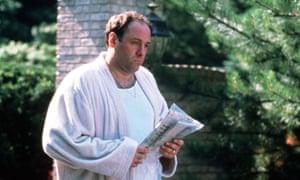 Machiavellian scoundrel … James Gandolfini as Tony Soprano in the HBO TV series The Sopranos.