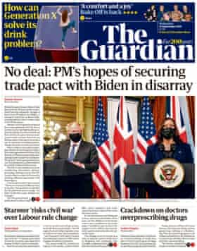 Wednesday briefing: Hopes for a US trade deal fade |